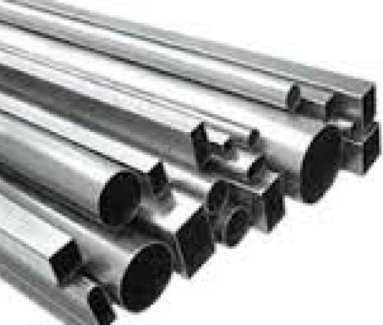 tubos industriais pretos e galvanizados